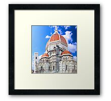 Santa Maria del Fiore cathedral in Florence Framed Print