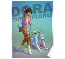 Dora the explorer BADASS Poster