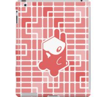 Cube Animals: The rabbit iPad Case/Skin