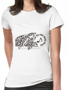 Toy_Piano Womens Fitted T-Shirt