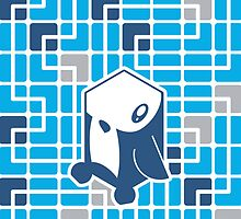 Cube Animals: The penguin by digitalstoff