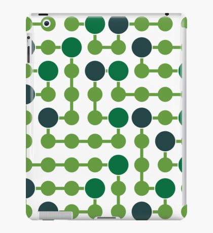 Mazes and patterns: platine iPad Case/Skin