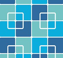 Mazes and patterns: squares by digitalstoff