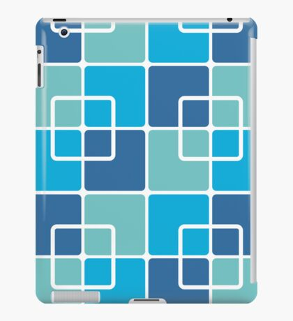 Mazes and patterns: squares iPad Case/Skin