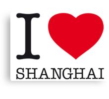 I ♥ SHANGHAI Canvas Print