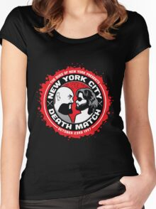 NYC Death Match Women's Fitted Scoop T-Shirt