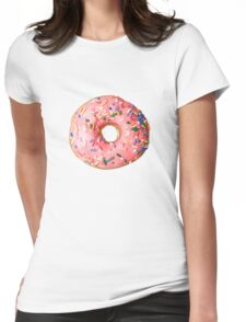 Sprinkled Donut Womens Fitted T-Shirt
