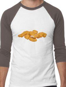Chicken Nuggets Men's Baseball ¾ T-Shirt