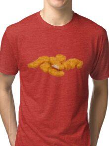 Chicken Nuggets Tri-blend T-Shirt