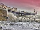 A Windy Day - Brighton Pier by Colin  Williams Photography