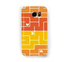 Mazes and patterns: retro game Samsung Galaxy Case/Skin