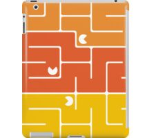 Mazes and patterns: retro game iPad Case/Skin