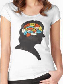 Bilbo Phrenology Women's Fitted Scoop T-Shirt