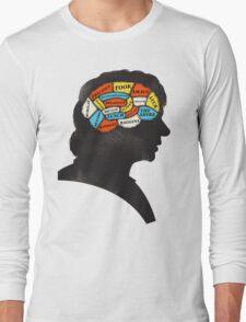 Bilbo Phrenology Long Sleeve T-Shirt