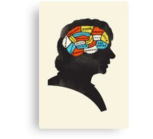 Bilbo Phrenology Canvas Print