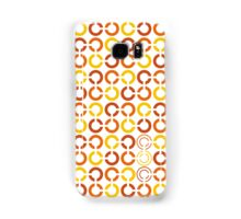 Mazes and patterns: rings Samsung Galaxy Case/Skin
