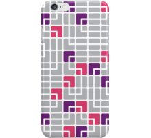 Mazes and patterns: rounded corners iPhone Case/Skin