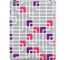 Mazes and patterns: rounded corners iPad Case/Skin