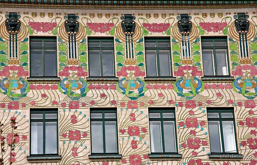 Flower Facade by phil decocco