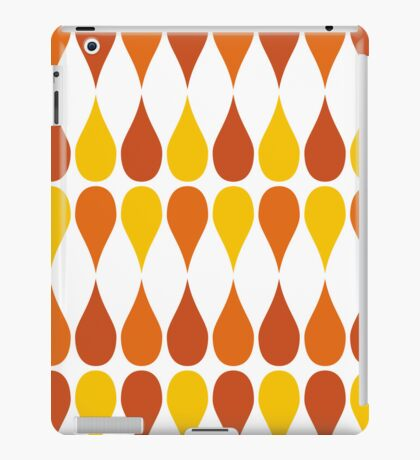 Mazes and patterns: drops iPad Case/Skin