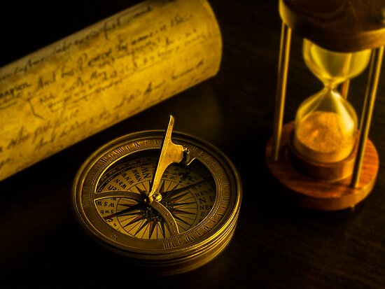Compass and other relics  by DavidCucalon