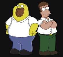 Homer and Peter T-Shirt