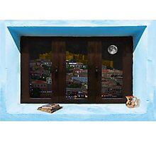 Window Into Greece 3 Photographic Print