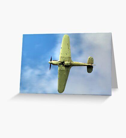 Hurricane LF363 (Mk IIc) Greeting Card