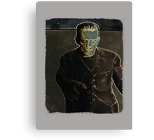 Frankenstein's Monster wants you Canvas Print