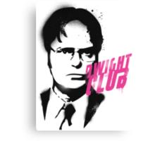 Dwight Club Canvas Print