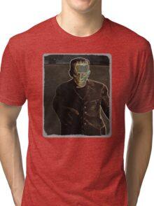 Frankenstein's Monster wants you Tri-blend T-Shirt