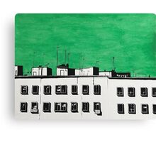 Green roofs Canvas Print