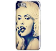 Gentlemen prefer blondes iPhone Case/Skin