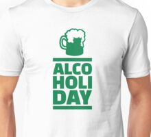 Alcoholiday St. Patrick's day Unisex T-Shirt