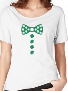 Irish bow tie tuxedo Women's Relaxed Fit T-Shirt
