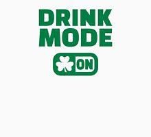 Drink mode on shamrock Unisex T-Shirt