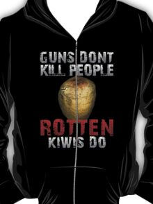 DayZ Guns don't kill people rotten Kiwis Do T-Shirt