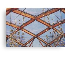 That great glass ceiling. Canvas Print