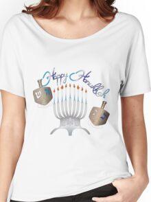 Happy Hanukkah Women's Relaxed Fit T-Shirt