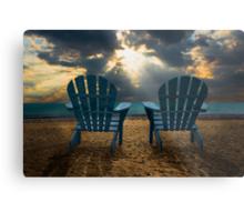 Evening Splendor at the Beach Metal Print