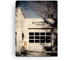 Slaters Garage Canvas Print