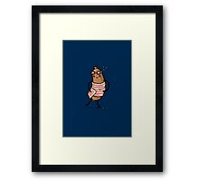Pigs in blankets Framed Print