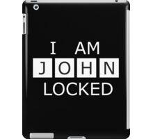 I AM JOHN LOCKED iPad Case/Skin