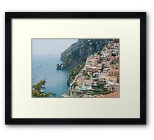 Italy. Amalfi Coastline Framed Print