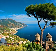 Italy. Amalfi Treescape by JessicaRoss