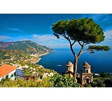 Italy. Amalfi Treescape Photographic Print