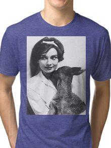 Audrey Hepburn Tri-blend T-Shirt
