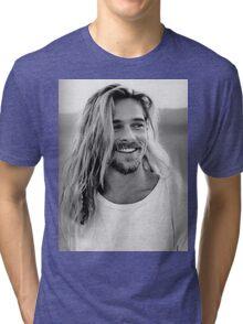 Brad Pitt Tri-blend T-Shirt