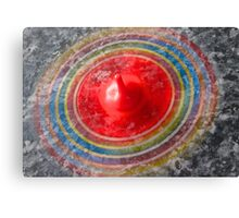 Coloured Spinning top  Canvas Print