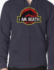 Smaug - I Am Death T-Shirt Zipped Hoodie
